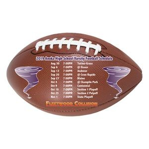"Re-Stick-It Decal (3.625""x6"") Football Shape"