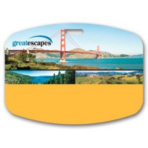 "Full Color Write On Tag (Rectangle 2.75""x3.75"")"
