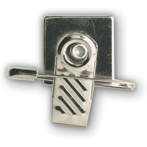 Pin and Swivel Badge Fastener Clip