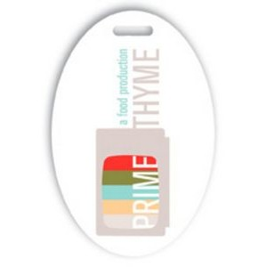 "Laminated Event Tag (2""x3"") Oval"