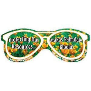 Full Color Magnet (3.875 x 1.5) Glasses