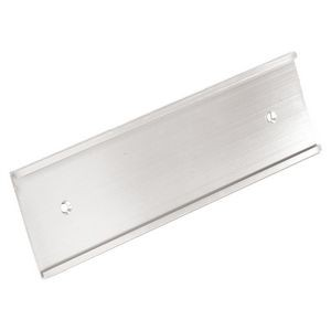 "Aluminum Wall Plate Holder (2""x10"")"